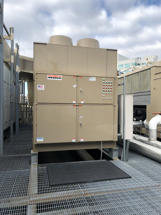 Baycrest Investments, Provided And Installed A New Bitzer Compressor