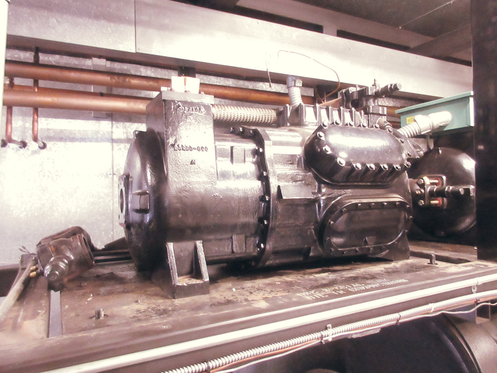 American Properties, Furnish and install new 75 ton compressor
