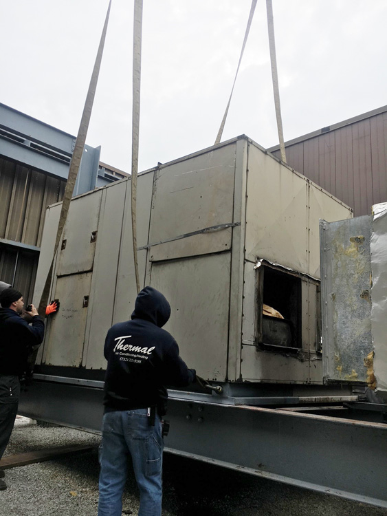 Summit Associates, Replacement of BAC Cooling Tower
